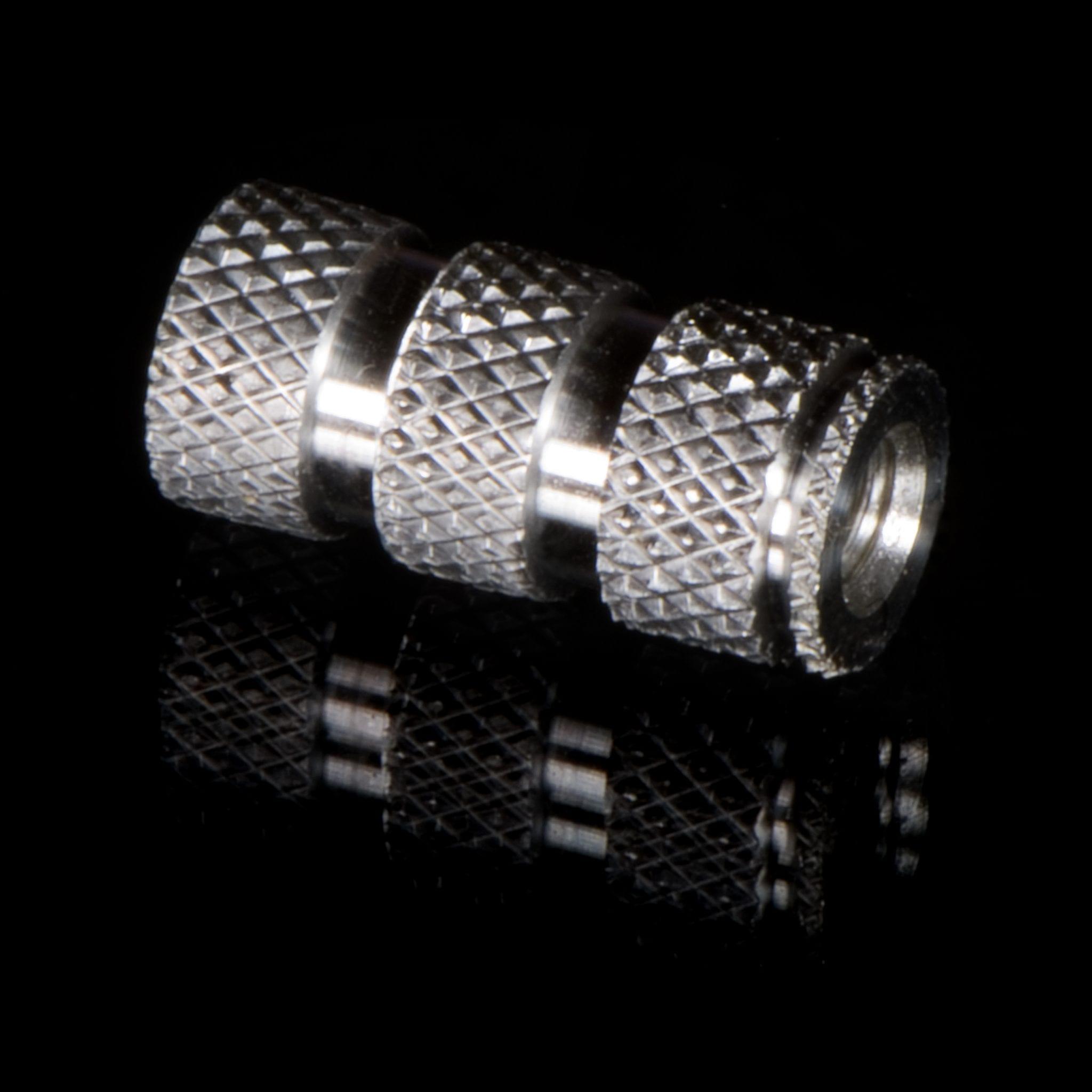 Knurled Aluminium