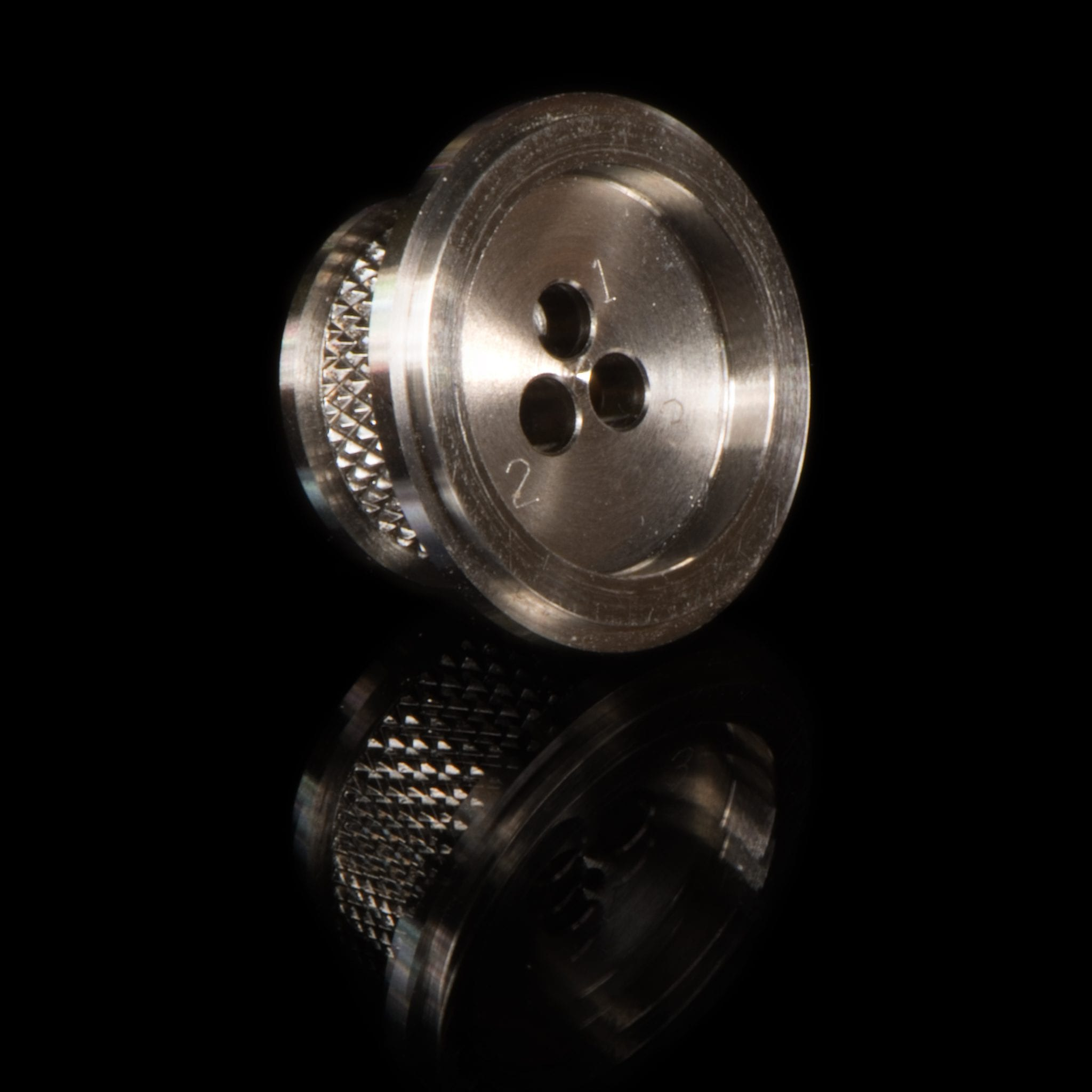 Engraved Knurled Shell